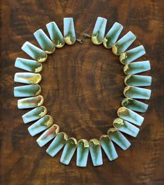 Brondsted 1960s Ceramic Necklace by TaxcoandMore on Etsy, $380.00