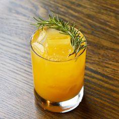 new from @christiaanrollich: Chupacabra El Silencio mezcal with pumpkin lemon maple and tequila #fall #cocktails #draaaaanks by aocla