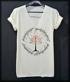 White Tree The Ring Space The Lord of The Ring by iNakedapparel, $14.99