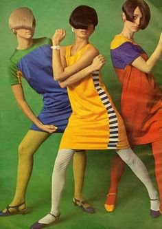 The hair. Those poses. 1966.