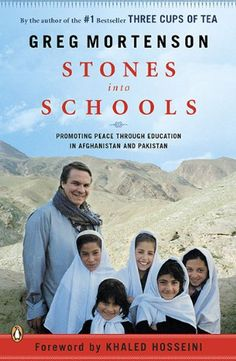 Stones into Schools: Promoting Peace with Education in Afghanistan and Pakistan by Greg Mortenson http://www.amazon.com/dp/0143118234/ref=cm_sw_r_pi_dp_t6MWvb0MDDNBA
