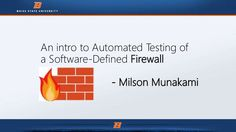 How to Test SDN based Firewall ?