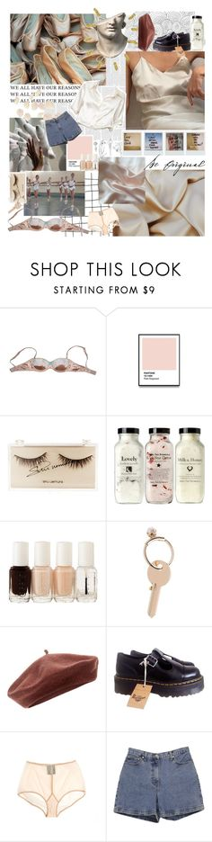 """Untitled #63"" by tipsofmylashes ❤ liked on Polyvore featuring Polaroid, Giambattista Valli, Brandy Melville, Manoush, shu uemura, Essie, Maison Margiela, Accessorize, Dr. Martens and Ann Demeulemeester"