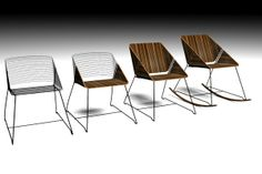 TWO SLICES CHAIR on Behance