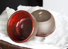 Керамические салатницы-пиалы Volcano | Керамическая посуда ХендКрафтер