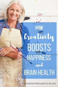 How Creativity Boosts Happiness and Brain Health