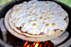 Nutella S'mores Pizza Recipe