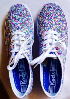 Keds - Custom Keds - Women's Shoes - Handpainted Canvas Shoes - Free Shipping - Size 6 7 8 9 10 11 on Etsy, $67.00