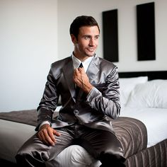 Premium Grey Suitjamas - YES