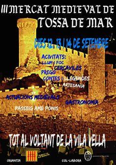 III Mercat Medieval de Tossa de Mar (setembre 2014)