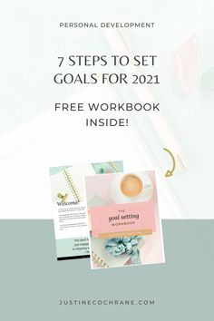 Ready to set some big goals in 2021? Create a life you love in 2021 by creating meaningful change in your life, and this workbook will help you every step of the way. 7 Easy to Follow Steps will help you stay clear, motivated and on track.