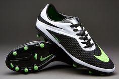 e48375079a9b84 Nike Hypervenom Phelon FG - Firm Ground - Mens Rugby Boots - Black-Neo Lime