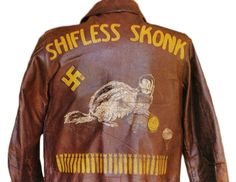 World War II's painted jacket shows an artistic outlet during battle. More on Plain Magazine.