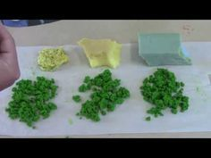 Cheap and easy clump foliage (Frugal Wargames Foliage) - YouTube