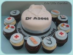 Doctor Cake and Cupcakes | Flickr - Photo Sharing!
