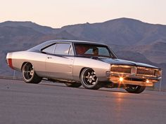 '69 Charger two tone