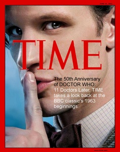 Doctor Who Time Magazine