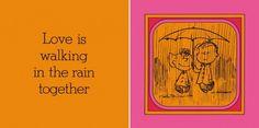 Not just lending her your umbrella