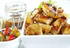 Tortillas med marinert kylling, grillet paprika og hot bbq saus | Elin LarsenElin Larsen