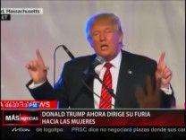 Donald Trump Ahora Dirige Su Furia Hacia Las Mujeres #Video