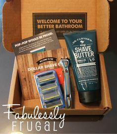 Save money on razers. Join the Dollar Shave Club! http://fabulesslyfrugal.com/save-money-on-razors-with-the-dollar-shave-club/