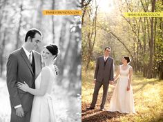 Post wedding ceremony photography in the woods at the Lodge at Little Seneca Creek, one of Montgomery Park's Park Event Centers!