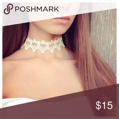 Lace Tattoo Choker Lace choker  ❤️alba Jewelry Necklaces