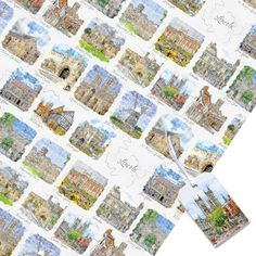 Quality Gift Wrap-Historic Lincoln-Matching tags-Wrapping paper for him or her All Occasion Wrap Sheet-Matching Lincolnshire Greeting cards Victorian Prison, Lincoln Cathedral, Matching Gifts, Funny Cards, Gift Tags, Wraps, Greeting Cards, Gift Wrapping, Etsy Shop