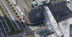 MVRDV realiza una escalera andamio en Rotterdam