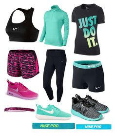 """Nike set pt2 with Chamaya"" by minniieminii on Polyvore"