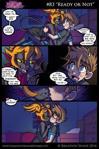 Anime Furry, Fun Comics, Anime Comics, Female Monster, Monster Girl Encyclopedia, Monster Under The Bed, Cute Couple Comics, Werewolf Art, Graphic Novels