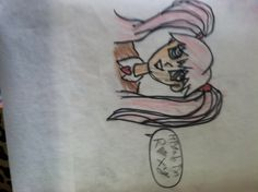 """My other drawing Roxy. The """"O"""" is a diamond. Sorry it's sideways. No repins"""