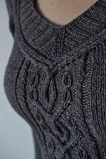 This sweater is #1 on my to-knit list (Moyen Age by Hanna Maciejewska)