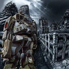 BattleTech Art   BattleTech artwork, BLR-1G Battlemaster
