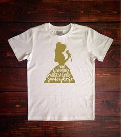 Belle silhouette T Shirt, Beauty and the Beast T Shirt, Disney Youth Shirt, Disney Family Shirt, Girls Disney Shirt, Disney Shirt by HandmadeSmilesDesign on Etsy