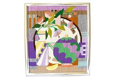 Art Deco Abstract Needlepoint on OneKingsLane.com