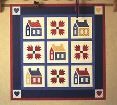 Country Home and Bear Paw Quilt Kit