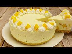 Őszibarack Torta Puding nélkül Sütés 🍑 - YouTube Party Desserts, No Bake Desserts, Delicious Desserts, Baking Recipes, Cake Recipes, Dessert Recipes, Brownie Muffin Recipe, Dessert Mousse, Apple Pie Cake