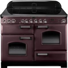Rangemaster Classic Deluxe 110 Induction Range Cooker - Taupe/Chrome