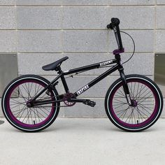 "Academy Inspire 18"" 2017 BMX Bike - Black/Purple"