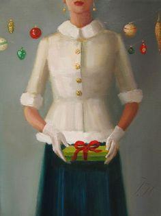 ~ Janet Hill ~ Christmas: The Presenter lgo