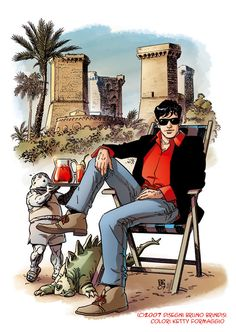 Dylan Dog  art Bruno Brindisi color Ketty Formaggio