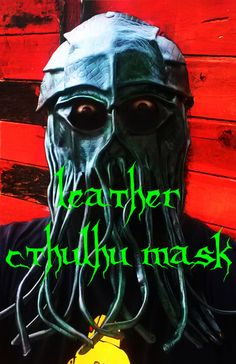Picture of Leather Cthulhu mask