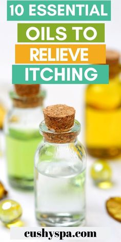 If your itchy skin is making you uncomfortable you need these essential oils for itching! These essential oils can provide you relief from your itchy skin! German Chamomile Essential Oil, Oregano Essential Oil, Cinnamon Essential Oil, Lemongrass Essential Oil, Tea Tree Essential Oil, Essential Oil Uses, Aromatherapy Benefits, Aromatherapy Recipes, Homemade Beauty Tips