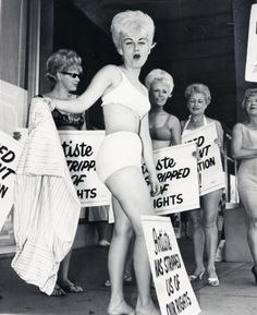 Detroit Beauticians and Barbers Strike, 1965  via: edithshead