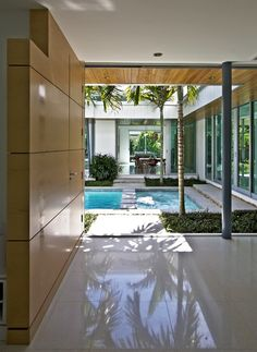 Modern Patio by Balfoort Architecture, Inc.