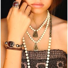 Wear Peace Mala Collection @ www.acompton.com Spiritual Jewelry, Fine Jewelry, Peace, How To Wear, Collection, Fashion, Fashion Styles, Fashion Illustrations, Sobriety
