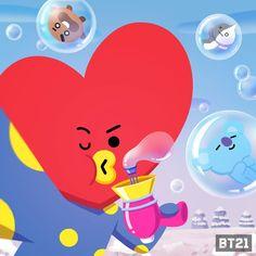 BTS - BT21 Leprechaun, Bt 21, Main Theme, Line Friends, Bts Chibi, Tom And Jerry, Bulletproof Boy Scouts, Cute Characters, Jikook