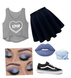 """""""Untitled #28"""" by myclothsoffashon on Polyvore featuring Lime Crime, Vans and Cynthia Rowley"""