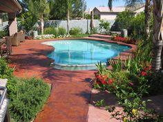Pool Deck Color Ideas